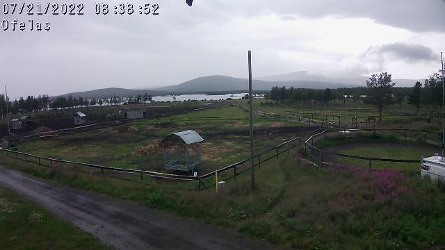 Webcam Puoltsa, Kiruna, Lappland, Schweden
